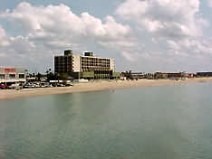 beach at Corpus Christi, Texas