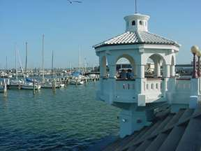 gazebo on the bay in Corpus Christ